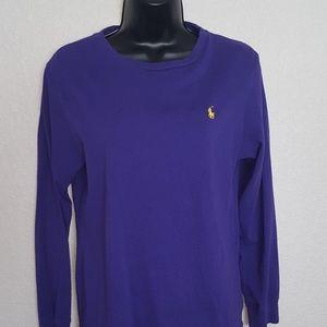 Boy's  long sleeve polo shirt